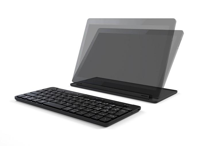 マイクロソフト純正のWindows,iPhone,Androidをスイッチで切り替えられる「ユニバーサルモバイルキーボード(Universal Mobile Keyboard) 」が欲しい(笑)
