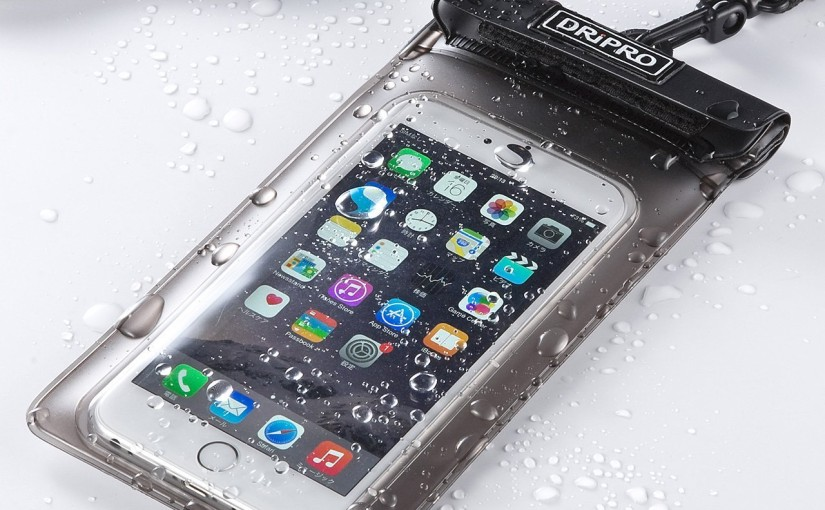 iPhone6 Plus対応のサンワサプライの防水ケース・・・IPX8を取得しお風呂で使用可能