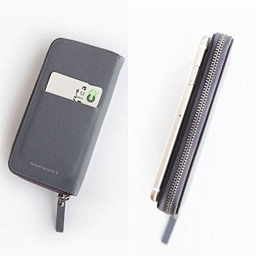 財布と一体になったiPhone6 Plusのレザーケース「Zip-Around case」・・・カード生活